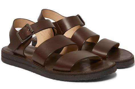 designer sandals mens s leather sandals 5 designer sandals for summer