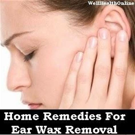home remedies for ear wax removal paperblog
