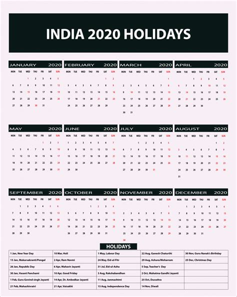 indian public holidays  calendar indian holidays