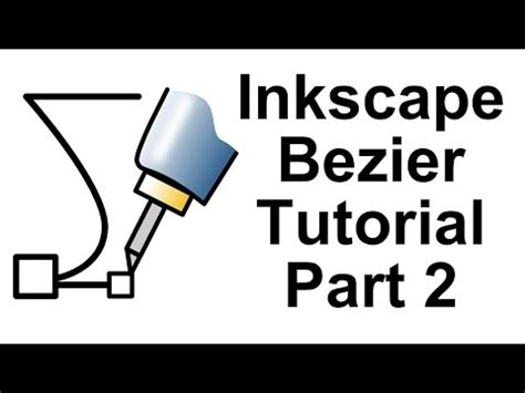 inkscape tutorial logo youtube inkscape bezier tutorial 2 youtube