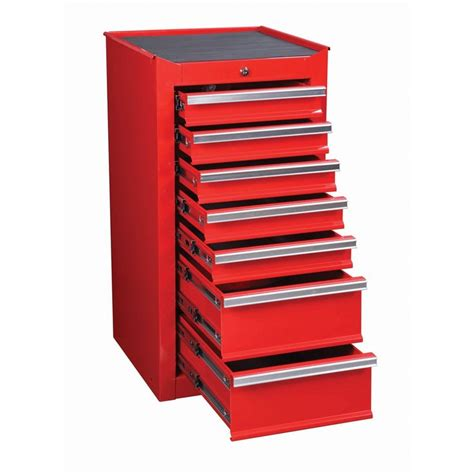 tool drawer organizer harbor freight 189 99 7 drawer red end cabinet for roller tool chest