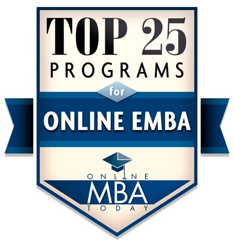 Rit Mba Apply by Top 25 Emba Programs 2018 Mba Today