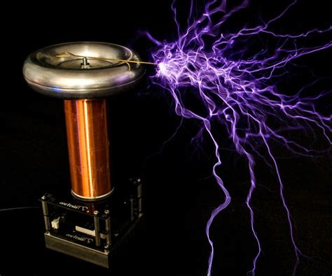 How To Make Tesla Coils Diy Desktop Musical Tesla Coil Kit Gearnova