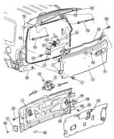 Jeep Liberty 2004 Parts Swing Gate Latch And Hinges