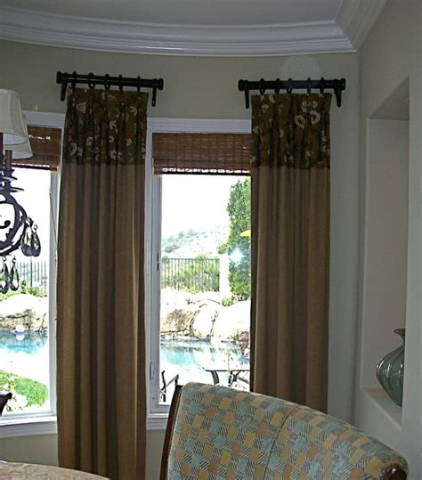 contemporary window treatments for living room window treatments