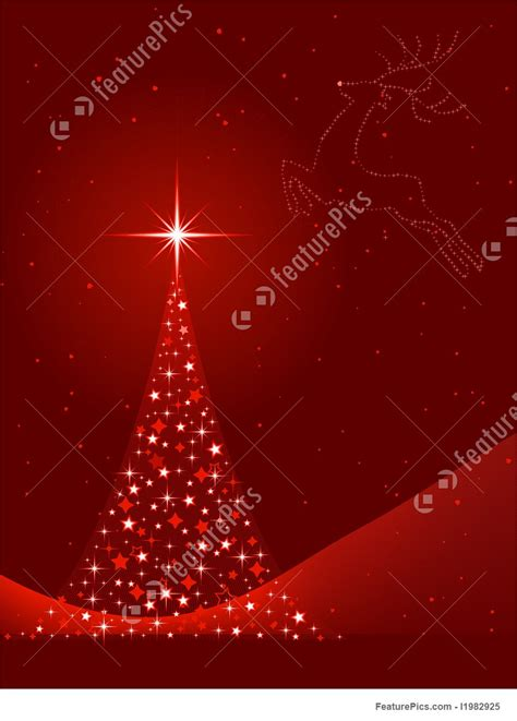 holidays vertical red background  christmas tree