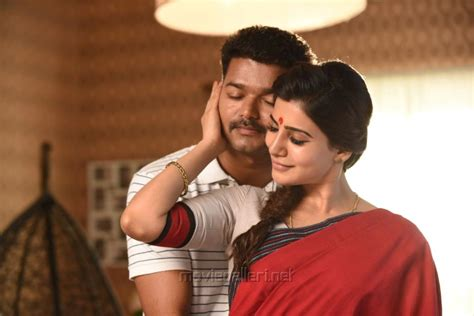 theri latest hd images wallpapers pictures vijay samantha amy picture 1019903 vijay samantha in theri movie stills