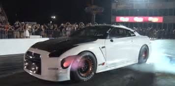 Electric Car Quarter Mile Record Nissan Gt R Alpha G Could 3 000 Hp Aiming For