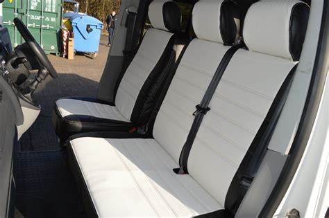 Vw T4 Seat Upholstery by T4 Seat Covers White Vee Dub Transporters