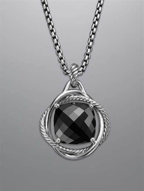 black with pendants black pendant necklace bitsy