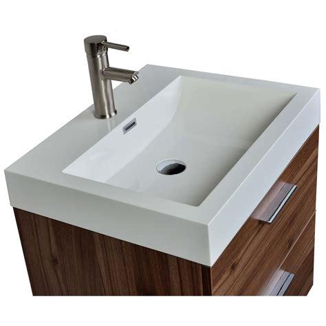 22 75 quot single bathroom vanity set in walnut tn t580 wn