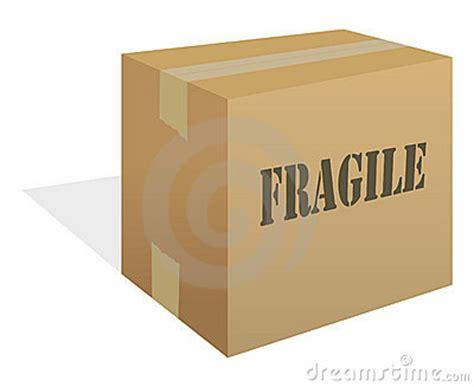 box fragile stock photo image