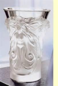 Lalique Fantasia Vase Lovely Vases On Pinterest Glass Vase Pottery Vase And
