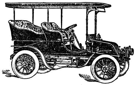 vintage cars clipart vintage snips and 1904 vintage car clipart black