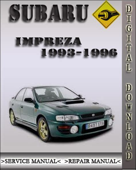 small engine repair manuals free download 1993 subaru svx user handbook 1993 1996 subaru impreza factory service repair manual 1994 1995