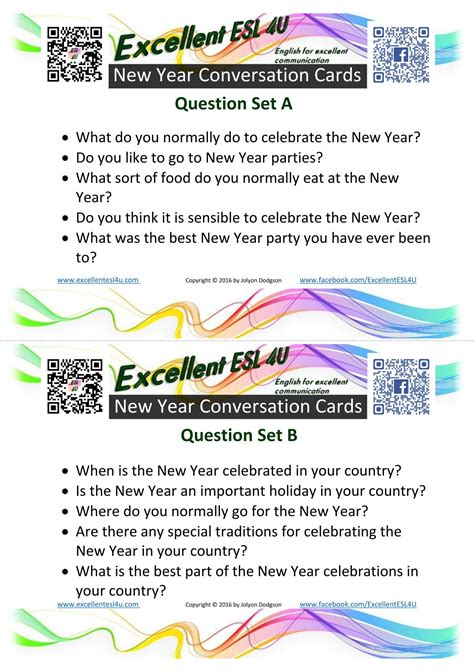 new year discussion questions conversation topics for adults learning