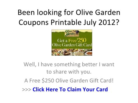 olive garden coupons to scan olive garden coupons printable july 2012