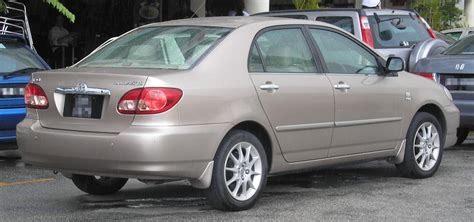 toyota corolla model year changes classic or new car