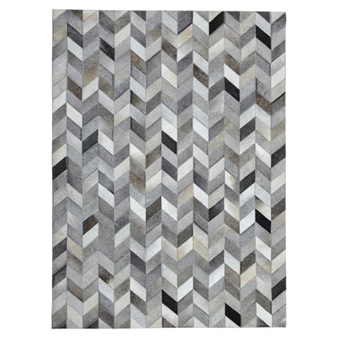 Cowhide Rugs For Sale Australia by Made Genuine Cowhide Patchwork Rug In Herringbone