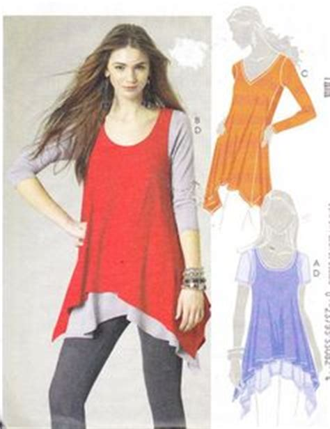 Ca Mc Blouse Diskon new look 6086 misses tunic tops patterns sewing