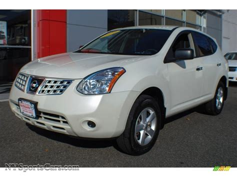 2010 nissan rogue white 2010 nissan rogue s awd 360 value package in phantom white