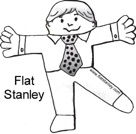 free printable flat stanley template flat fido flat stanley flat alex just plain flat see