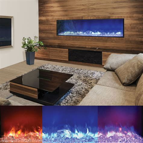 indoor outdoor electric fireplace amantii bi 72 panorama 72 inch indoor outdoor
