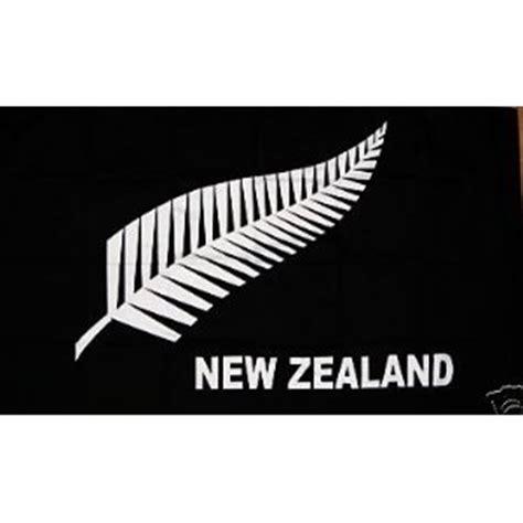 amazon nz 5ft x 3ft 5 x3 flag new zealand fern black silver amazon