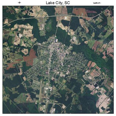doodle bug lake city sc aerial photography map of lake city sc south carolina