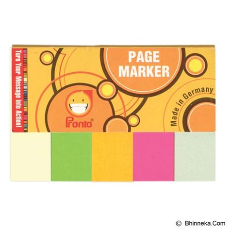 N Notes Pronto Note Sticker Warna Warni jual pronto page marker psn15 30pcs murah bhinneka