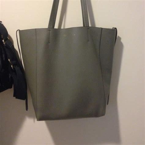 Celline Tote Single Bag 1331 Size 26 X 26 X 13 26 handbags small cabas phantom gray tote from s closet on poshmark