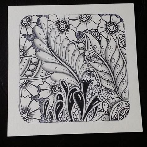 tangled doodle art in time lapse coloring videos and 94 best instagram likes images on pinterest zentangle