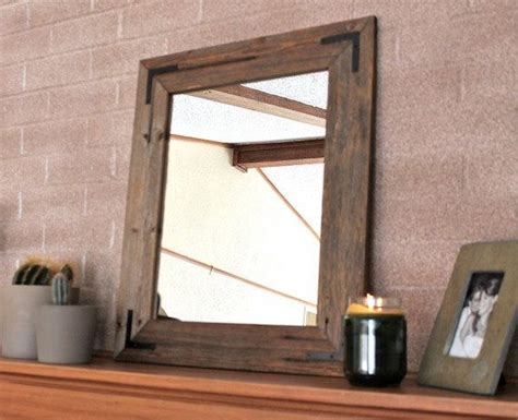 reclaimed wood bathroom mirror rustic wall mirror wall mirror 18 x 24 vanity mirror