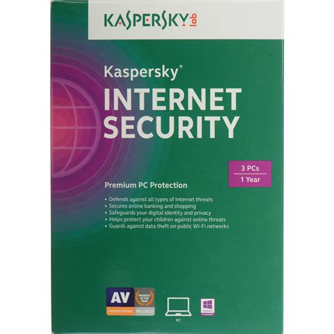 Security Kaspersky 3 User kaspersky security 2015 kis1503121uszz b h photo