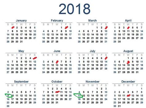 Sunday Only Calendar 2018 fact check 2018 s amazing calendar