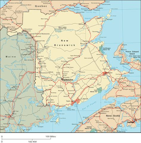 canadian mapquest directions map of nb canada