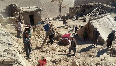 earthquake massage loss control damage death toll mounts from afghanistan earthquake