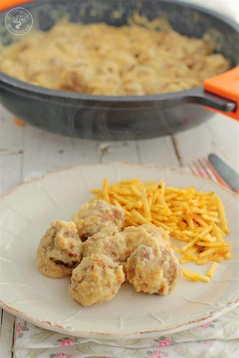 cocinar entre olivos cocinando entre olivos alb 243 ndigas en salsa de manzana