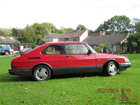 saab 900 turbo s 16v for sale from cheshire sport classics saab 900 turbo s 16v 1993 red 3 door excellent condition