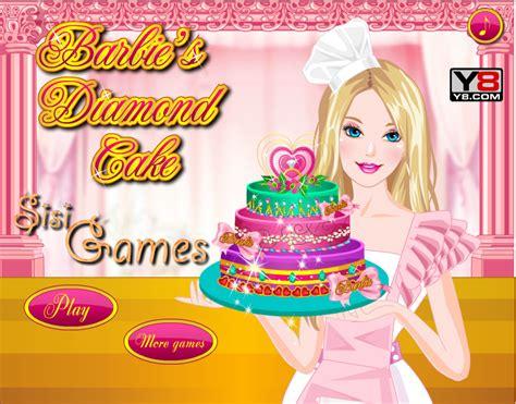 permainan membuat kue ulang tahun barbie permainan memasak kue berlian barbie permainan memasak 2014