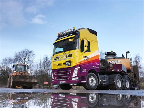 volvo heavy haulage trucks for sale volvo fh truck for heavy haulage specialist ruttle plant