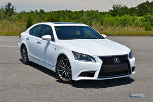 2015 lexus ls 460 f sport review test drive