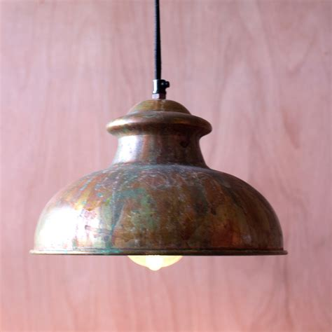 Vintage Light Pendant Antique Rustic Pendant Light