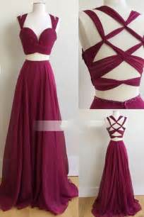 maroon color prom dress two prom dress 2017 burgundy prom dress