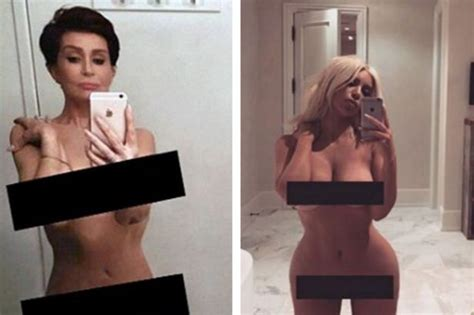 bathroom naked video sharon osbourne shares her own naked bathroom selfie in