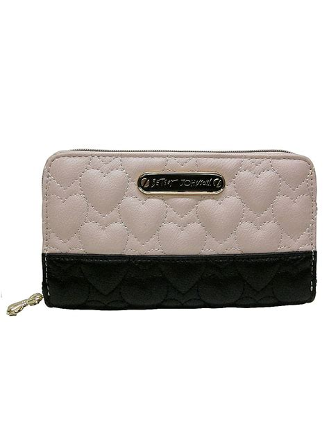 It Only It Were Zip by Betsey Johnson Be My One Only Zip Around Wallet In Pink