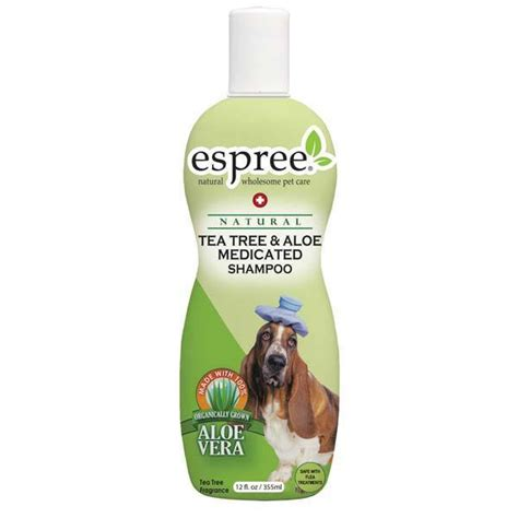 espree puppy shoo espree tea tree aloe shoo for irritated skin for dogs 12 ounce ebay