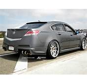 STANCED ACURA TL  DUAL LIP 20″ AC Forged 818 Falken Tires