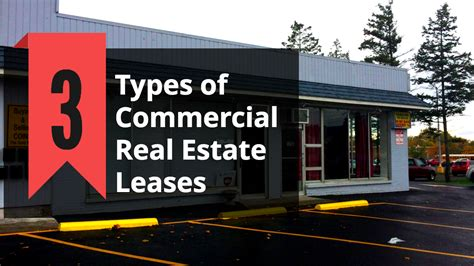 is commercial real estate for you books 3 types of commercial real estate leases
