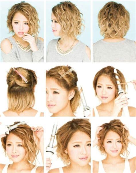 tutorial wavy bob 99 best images about short hair tutorials on pinterest
